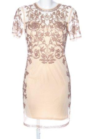 Asos Cocktail Dress cream elegant