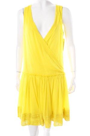 Asos Cocktailkleid gelb extravaganter Stil