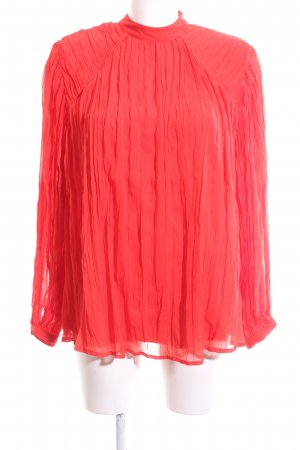 Asos Crash-Bluse rot Business-Look