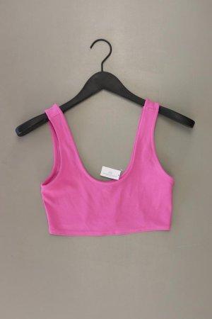 Asos Cropped top lichtroze-roze-roze-neonroos Polyurethaan