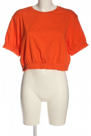 Asos Cropped Shirt hellorange Casual-Look