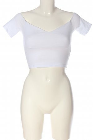 Asos Cropped Top white casual look