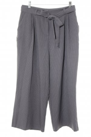 Asos Pantalone culotte grigio chiaro-grigio motivo a quadri elegante