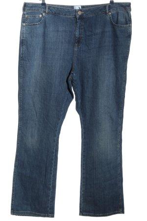 asos curve Jeansy z prostymi nogawkami niebieski W stylu casual