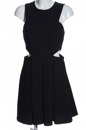Asos Cut out jurk zwart elegant