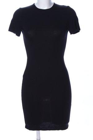 Asos Cut-Out-Kleid schwarz Casual-Look