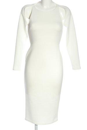 Asos Vestido cut out blanco elegante