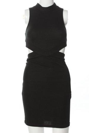 Asos Vestido cut out negro look casual