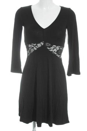 Asos Cut-Out-Kleid schwarz Elegant
