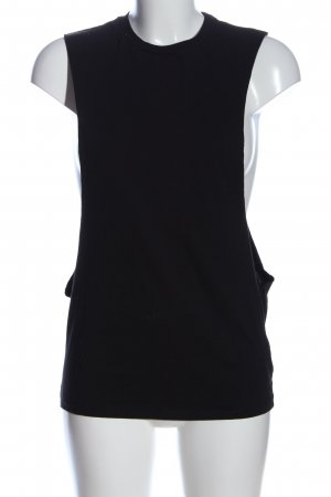 Asos Cut Out Top black casual look