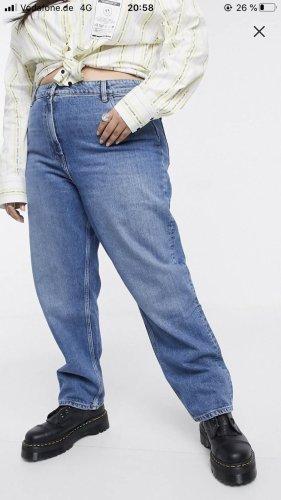 Asos Straight Leg Jeans blue