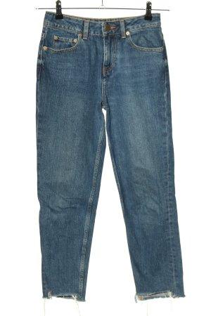Asos Denim 7/8-jeans blauw casual uitstraling