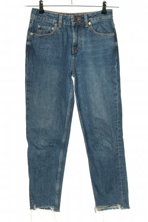 Asos Denim 7/8 Jeans blau Casual-Look