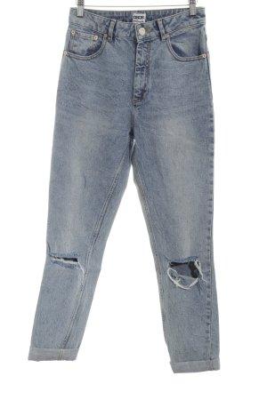 Asos Denim Jeans boyfriend bleu style décontracté