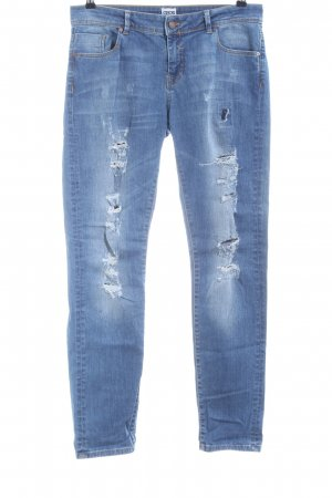Asos Denim Boyfriend jeans blauw casual uitstraling