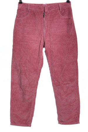 Asos Denim Pantalón de pana rosa look casual