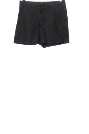 Asos Denim Hot Pants schwarz Casual-Look