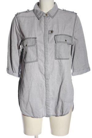 Asos Denim Chemise en jean gris clair style décontracté