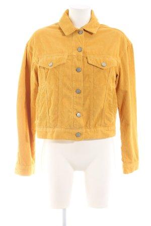 Asos Denim Veste en jean orange clair style décontracté