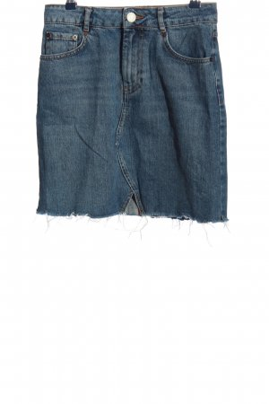 Asos Denim Jeansrock blau Casual-Look