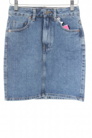 Asos Denim Denim Skirt blue casual look