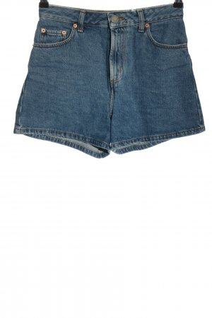 Asos Denim Jeansshorts blau Casual-Look