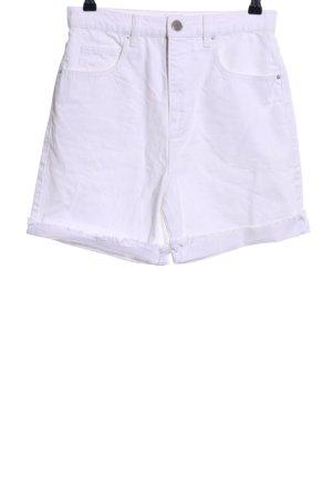 Asos Denim Short en jean blanc style décontracté