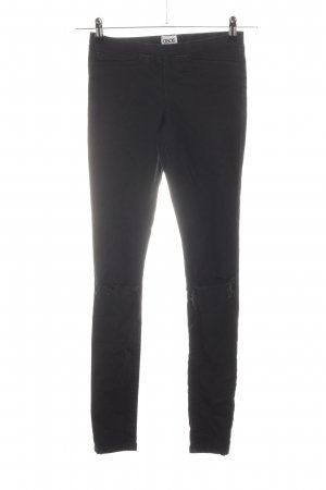 Asos Denim Jeggings schwarz Casual-Look