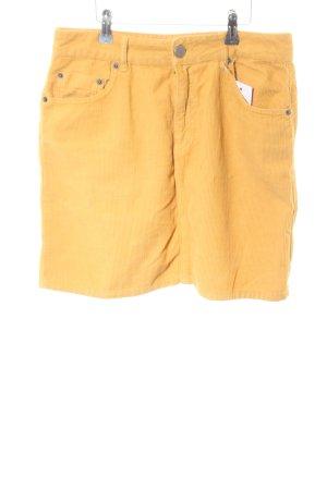 Asos Denim Mini-jupe orange clair style décontracté