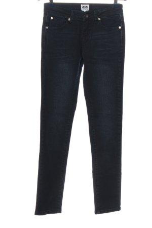 Asos Denim Jeansy rurki czarny W stylu casual