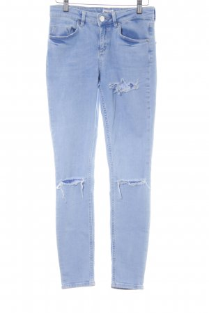 Asos Denim Jeans cigarette bleuet style déchiré