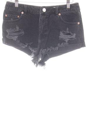 Asos Denim Shorts schwarz Casual-Look