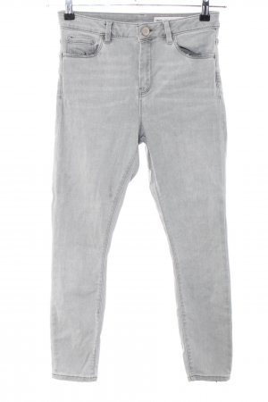Asos Denim Skinny Jeans light grey casual look
