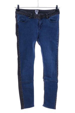 Asos Denim Skinny Jeans schwarz-blau Casual-Look