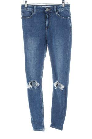Asos Denim Skinny Jeans blau Casual-Look