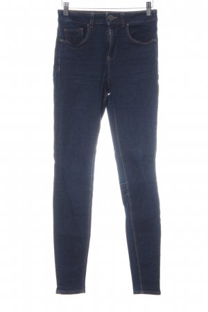 Asos Denim Skinny Jeans dunkelblau Casual-Look