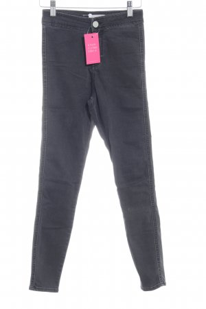 Asos Denim Jeans skinny gris foncé style décontracté