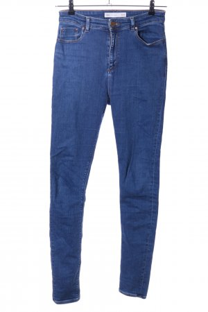Asos Denim Skinny Jeans blau Casual-Look