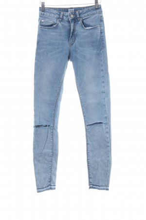Asos Denim Skinny Jeans color gradient casual look