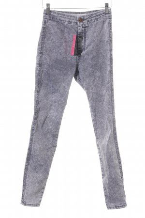 Asos Denim Skinny Jeans grey-light grey flecked casual look
