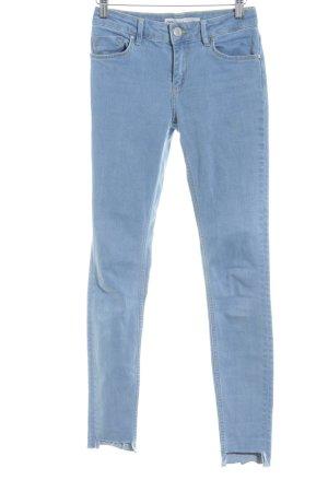 Asos Denim Skinny Jeans himmelblau Casual-Look