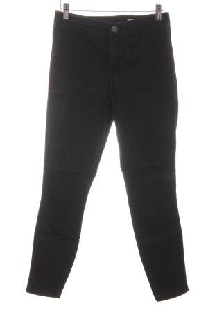 Asos Denim Skinny Jeans schwarz Casual-Look