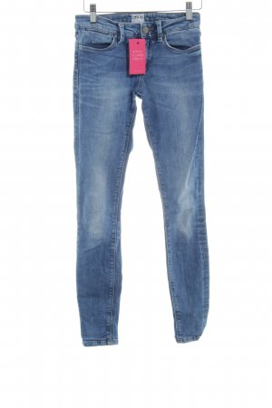 Asos Denim Skinny Jeans steel blue casual look