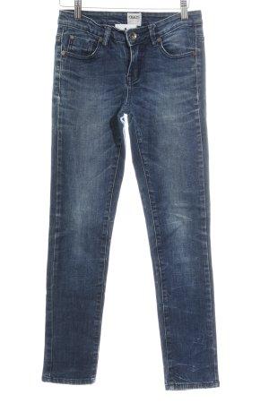 Asos Denim Slim Jeans dunkelblau-blassblau