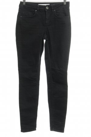Asos Denim Slim Jeans schwarz Casual-Look