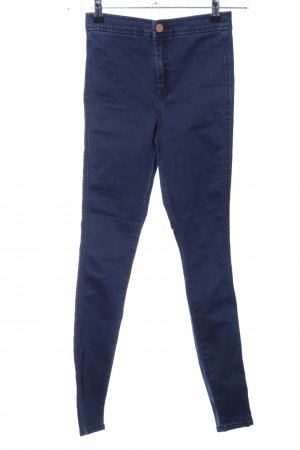 Asos Denim Stretch Jeans blau Casual-Look