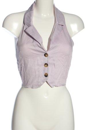 ASOS DESIGN Crop-top violet style décontracté