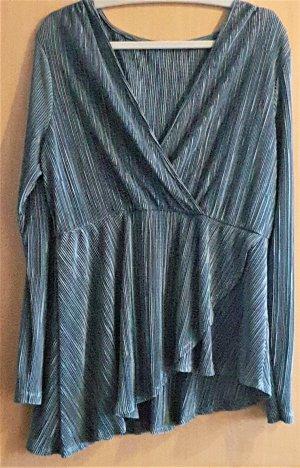 asos curve Blouse à manches longues kaki polyester