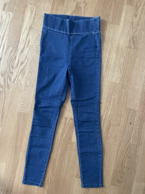 Asos Jeans a vita alta blu