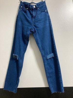 ASOS DESIGN High Waist Jeans blue